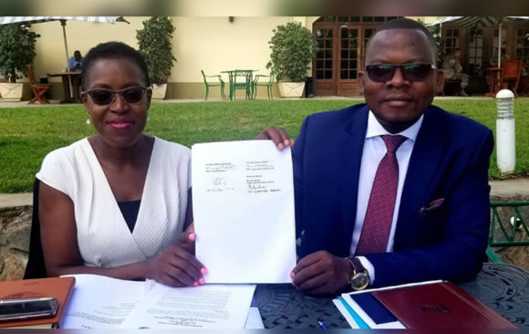 MOU Signing With The Malawi Law Society.