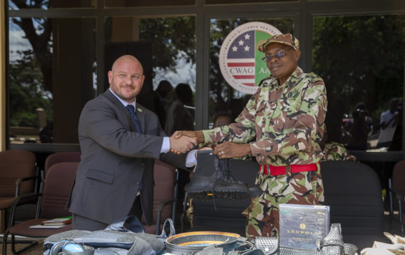 AGA-Africa & WITA Donates Law Enforcement Eqoipment to DNPW, Malawi.